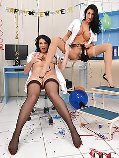Lesbian Party Porn