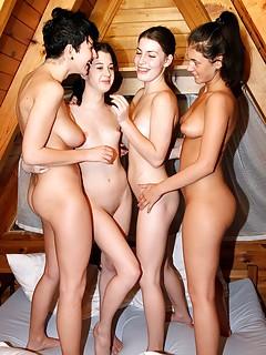 Lesbian Group Sex Porn