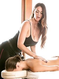 Lesbian Massage Porn