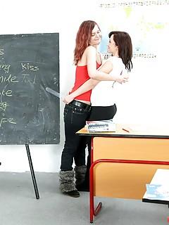 Lesbian School Girls Porn