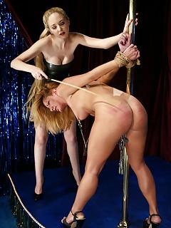 Lesbian Spanking Porn